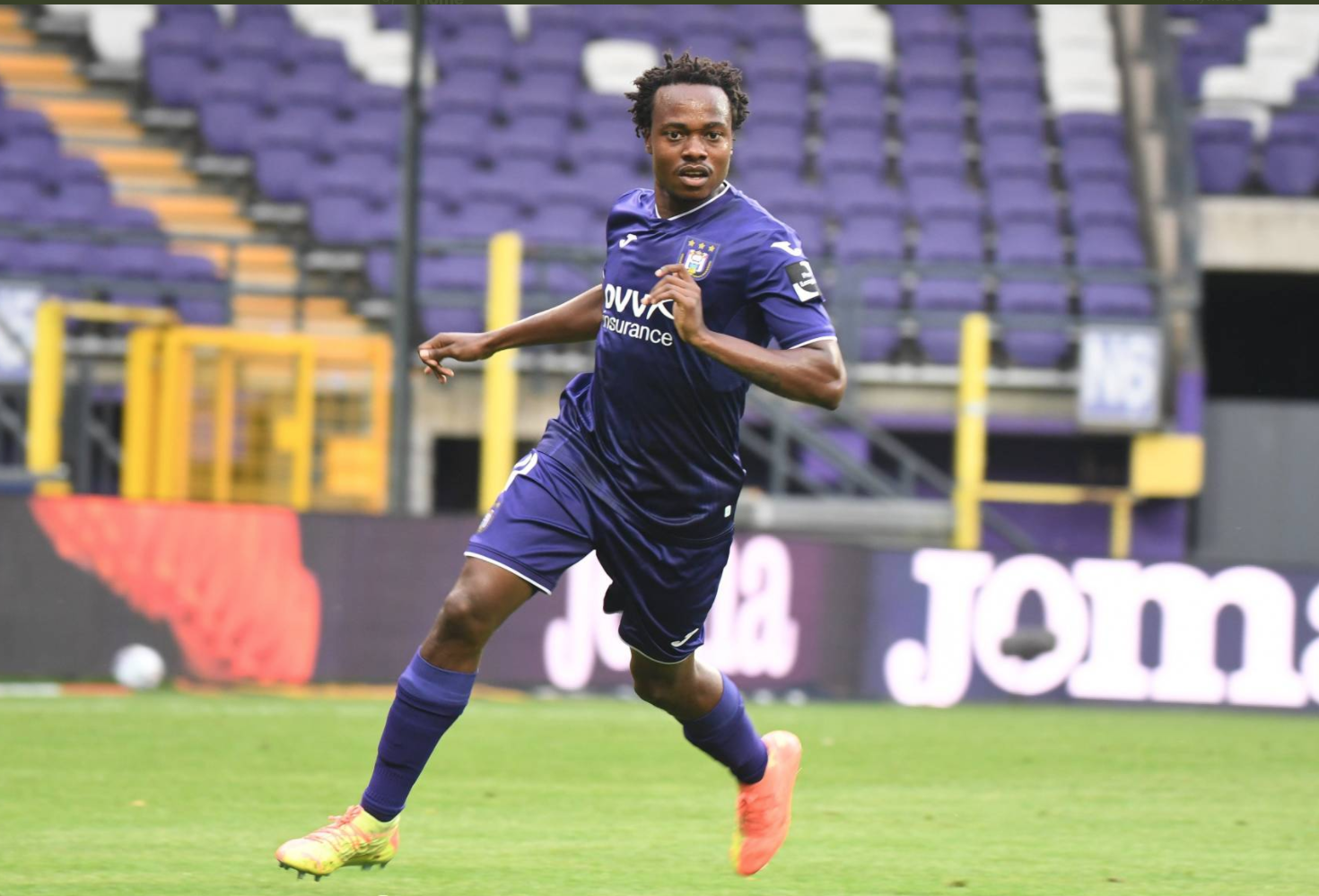 Percy Tau scores on Anderlecht debut