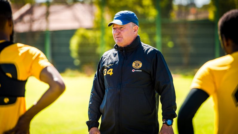 Kaizer Chiefs Coach Gavin Hunt is ready for busy weeks ahead
