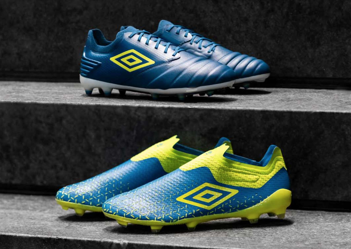 """Umbro Launch The """"Blue Sapphire/Lime Punch/White"""" Pack"""