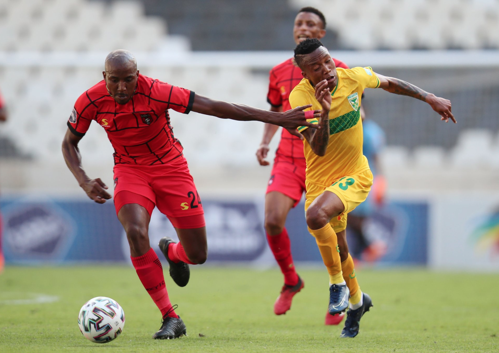 TS Galaxy and Golden Arrows played to a 1-1 draw