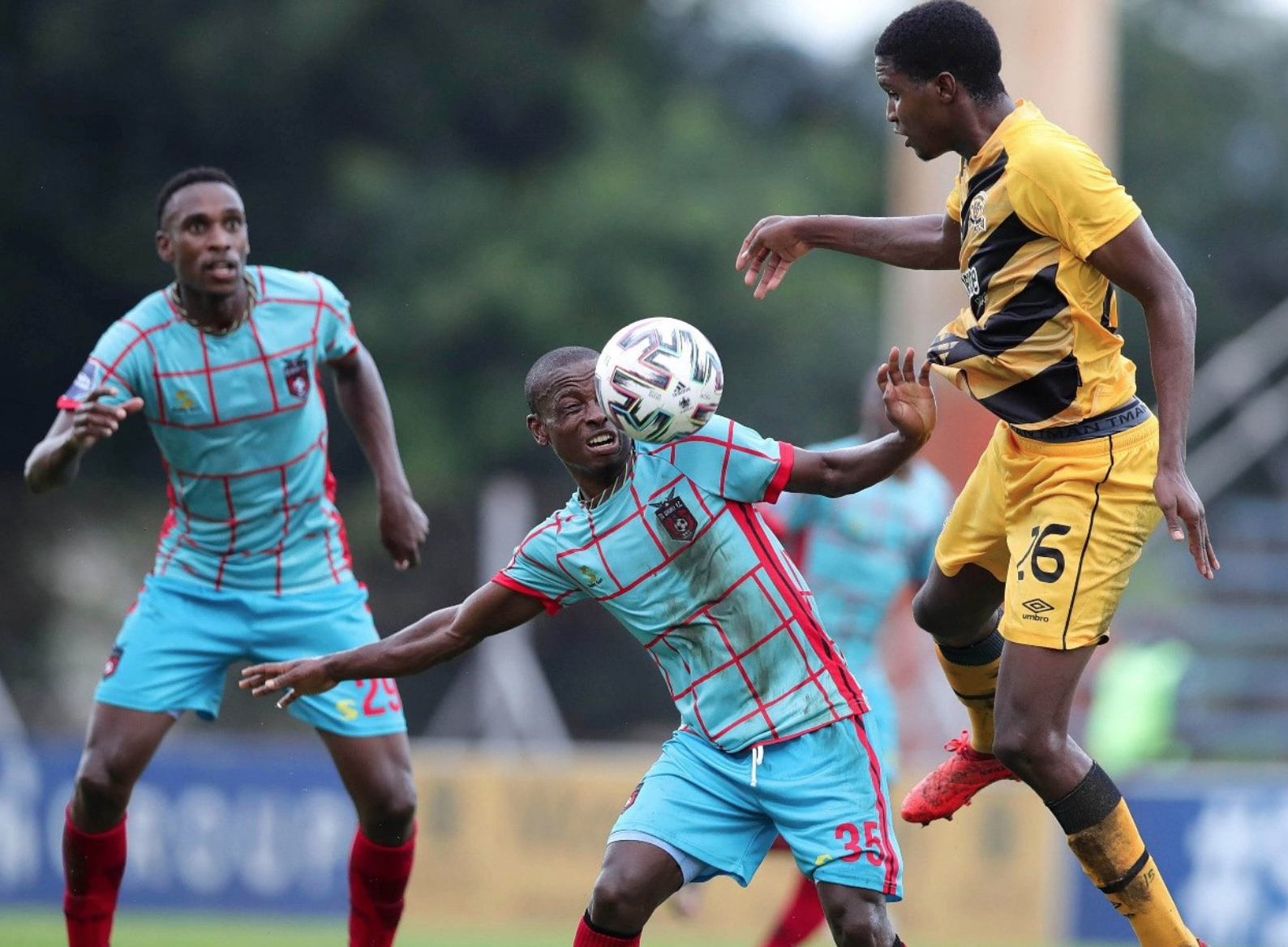 TS Galaxy Trash Black Leopards 3-0 at Thohoyandou Stadium