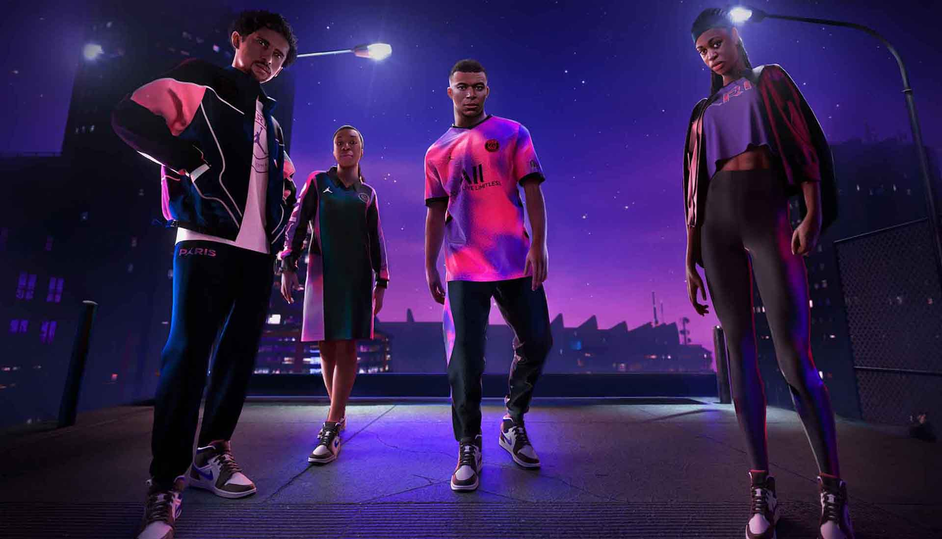 PSG x Jordan Launch 20/21 Fourth Kit & Apparel Collection