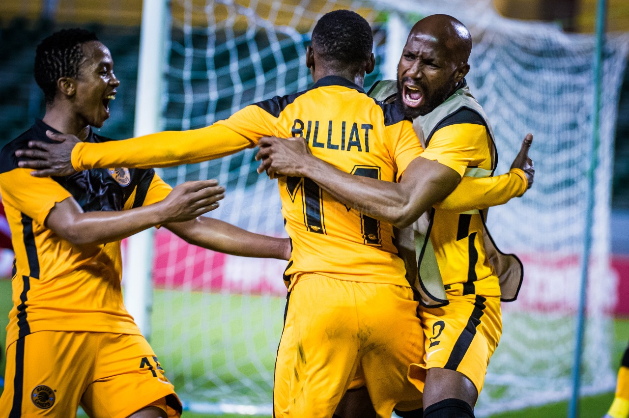 Kaizer Chiefs hold Horoya AC 2-2 in a CAF Champions League to progress to the quarterfinals for the first time.