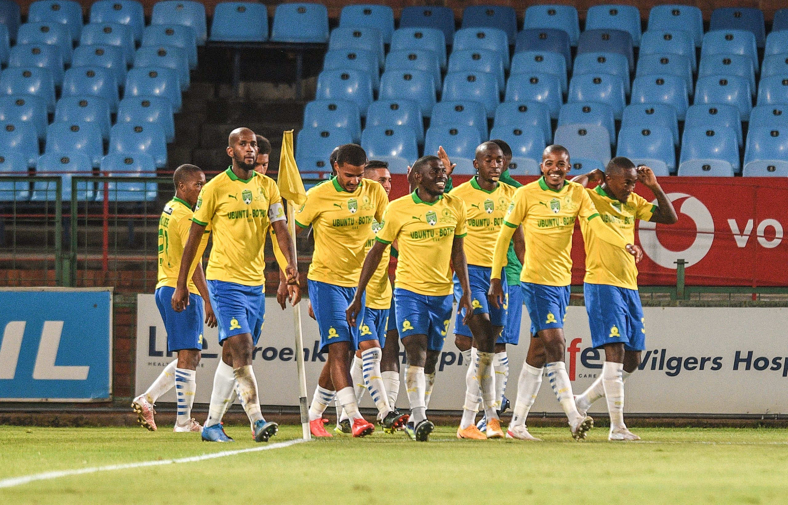 Sundowns look for immediate response v Arrows
