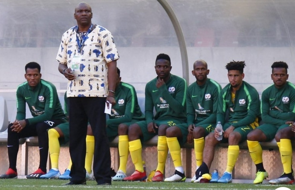 """""""I've received a lot of support also from the players."""" Molefi Ntseki"""