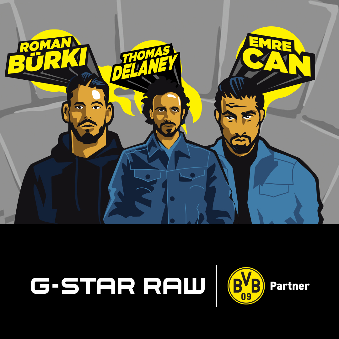 G-Star RAW steps into the game with Borussia Dortmund