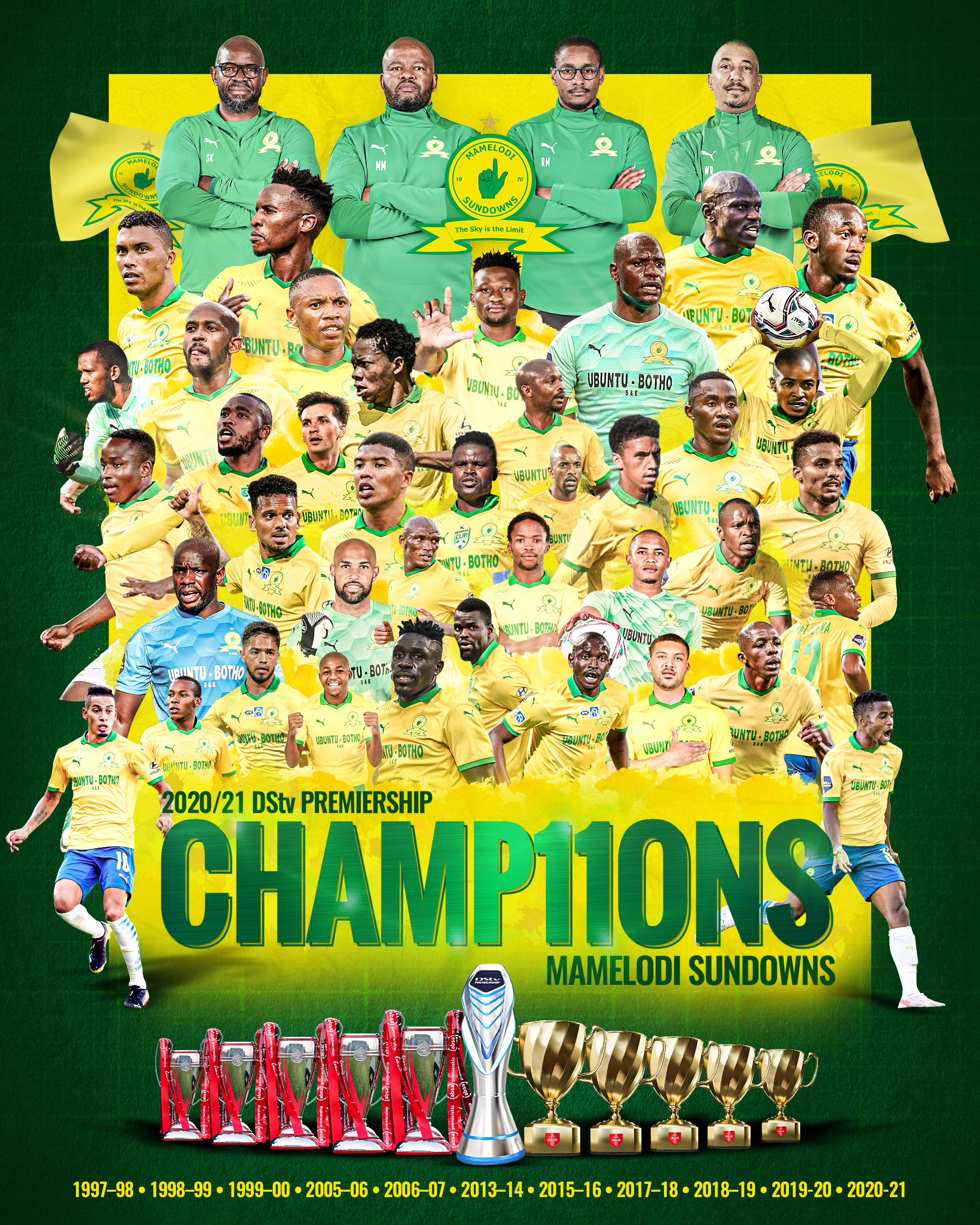 Sundowns dispatch SuperSport United as record-setting PSL title is secured