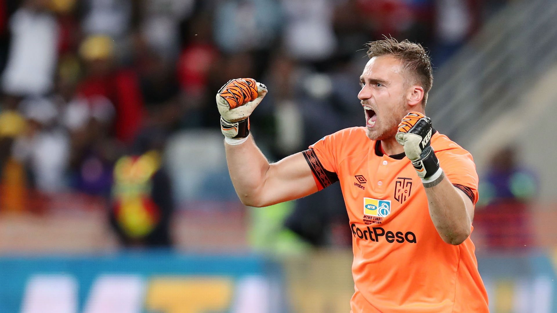 Cape Town City released keeper
