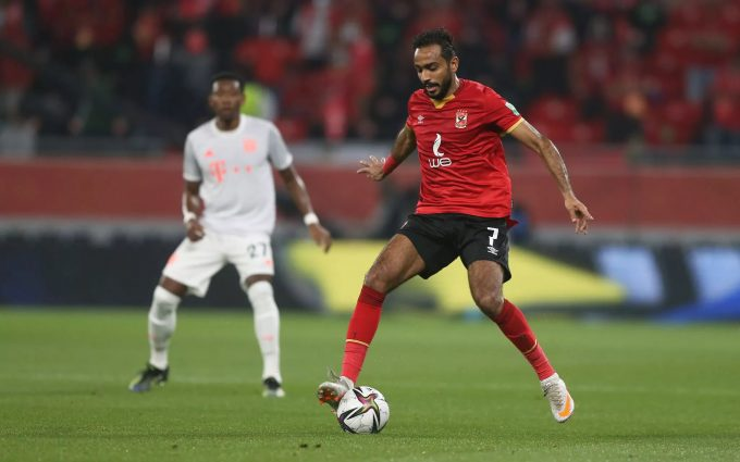 Kahraba wants Al Ahly stay despite little playing time