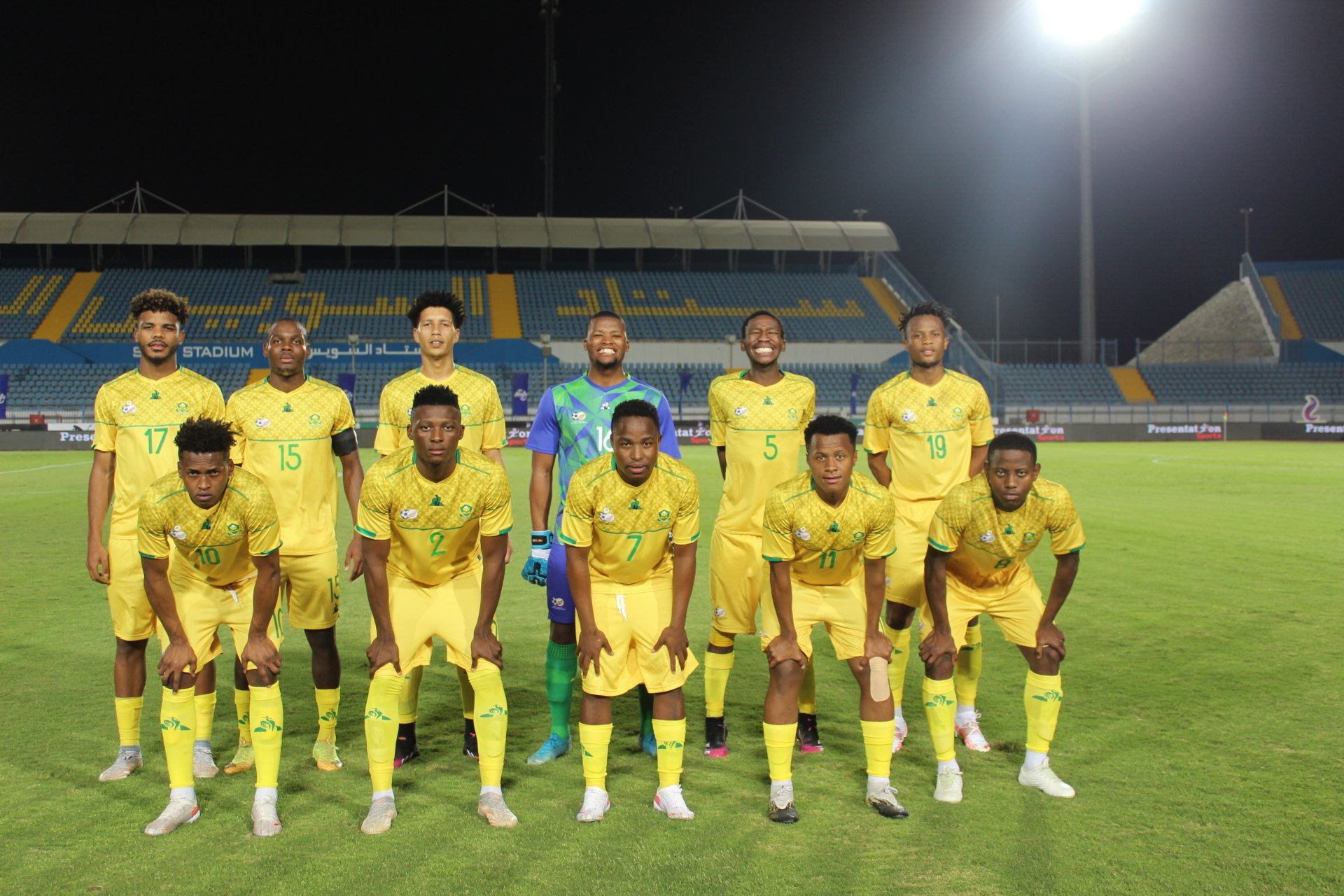 Egypt u-23 beat SA U23s in the first Olympic warm-up clash