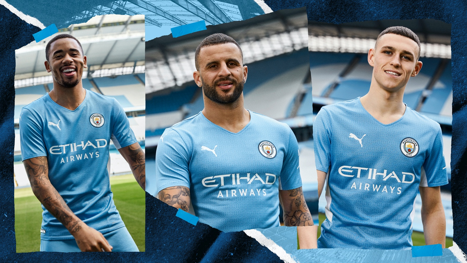 PUMA & MANCHESTER CITY UNVEIL NEW HOME KIT IN TRIBUTE TO THE GOAL THAT MARKED A NEW ERA FOR CITY