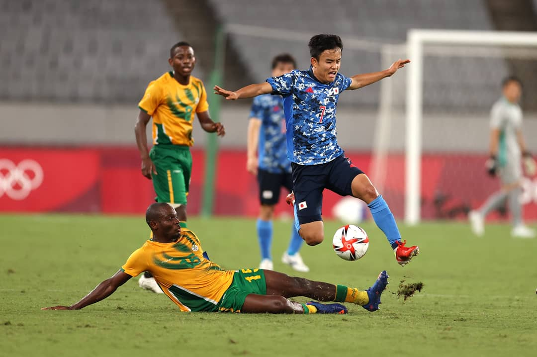 SA beaten by host Japan in Olympic football