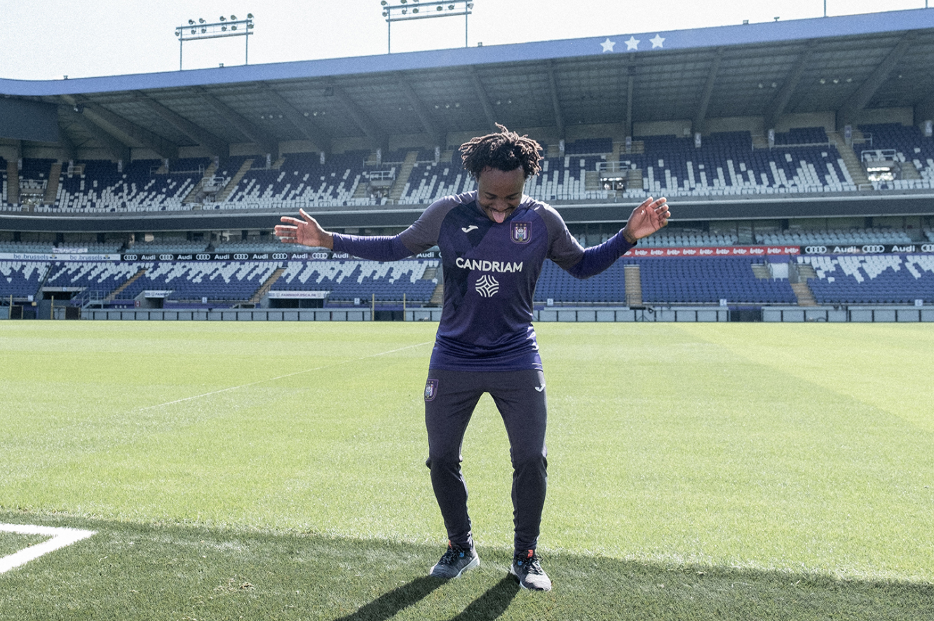 Percy Tau joins Anderlecht on loan