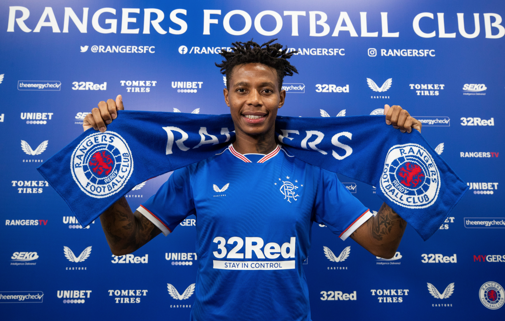 Zungu has officially been unveiled as a Rangers player