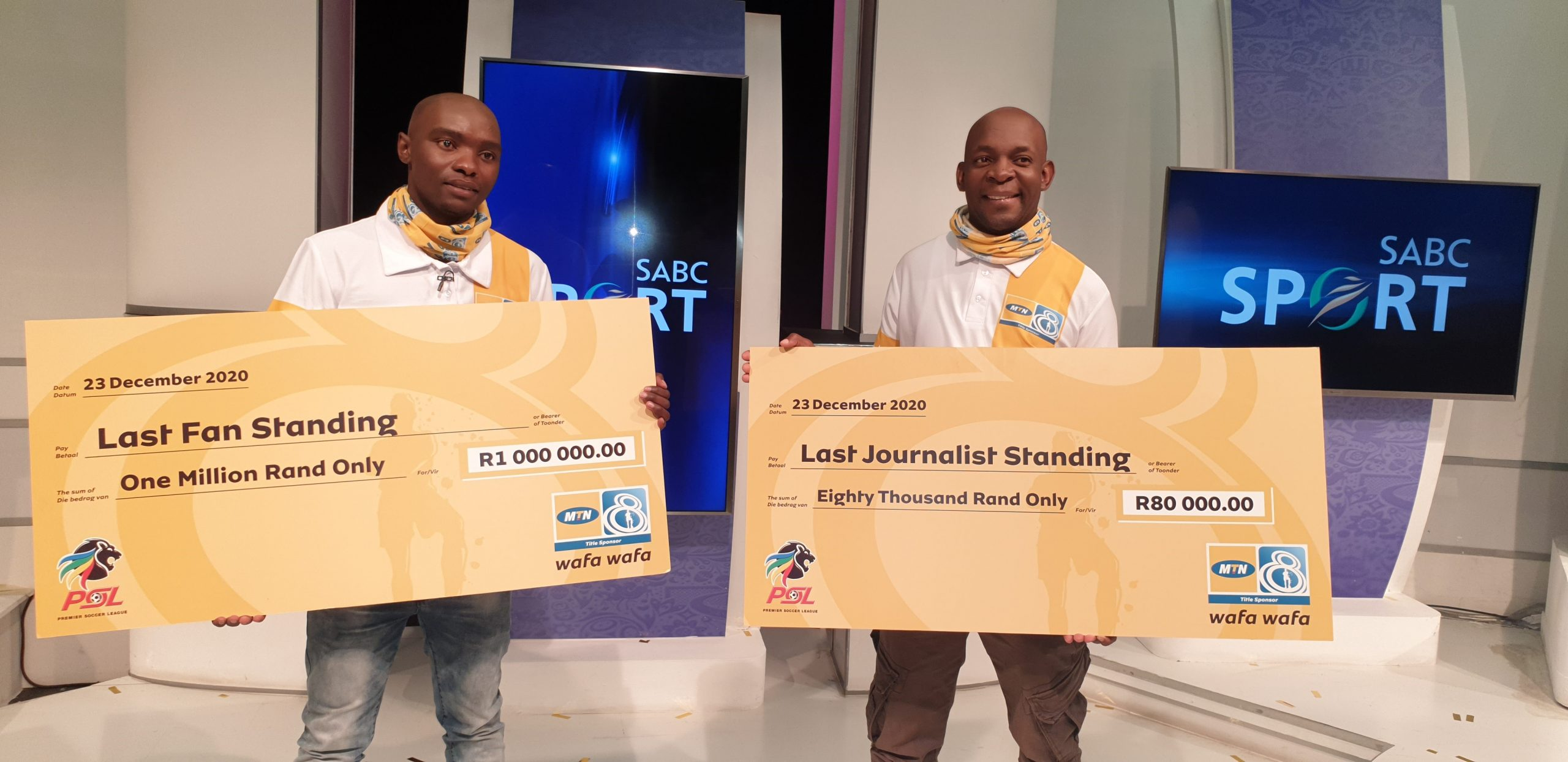 The 2020 MTN8 Last Fan Standing and the Last Journalist Standing winners announced