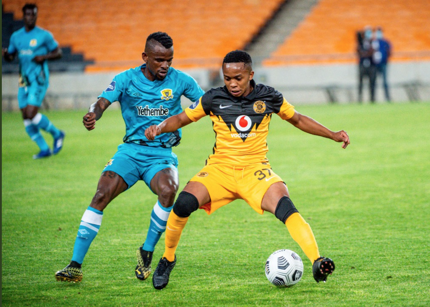 KAIZER CHIEFS FIGHT BACK TO HOLD BLACK LEOPARDS TO DRAW