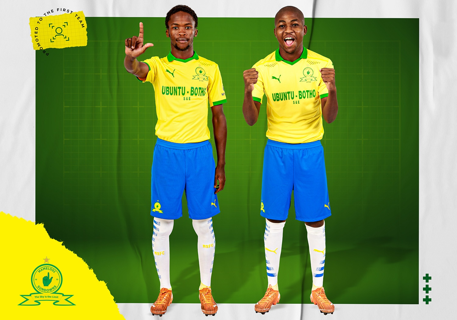 Mkhize and Mdhluli sign first-team contracts