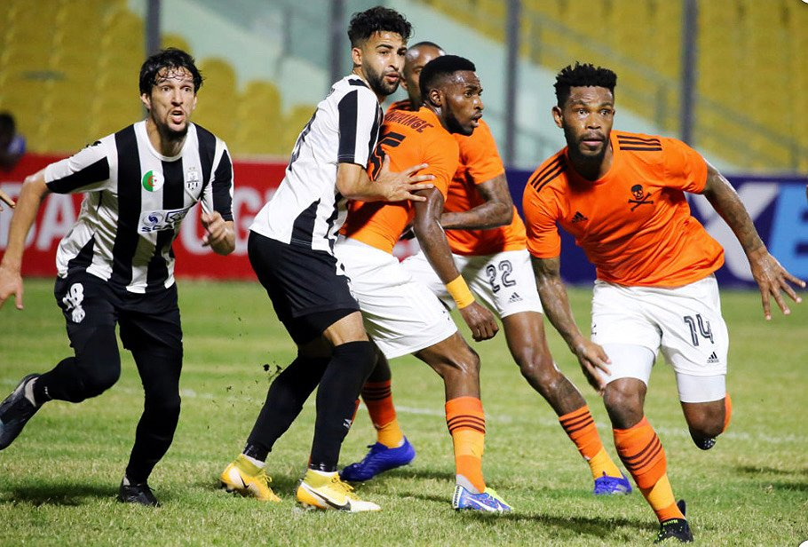Pirates Share The Spoils in Accra