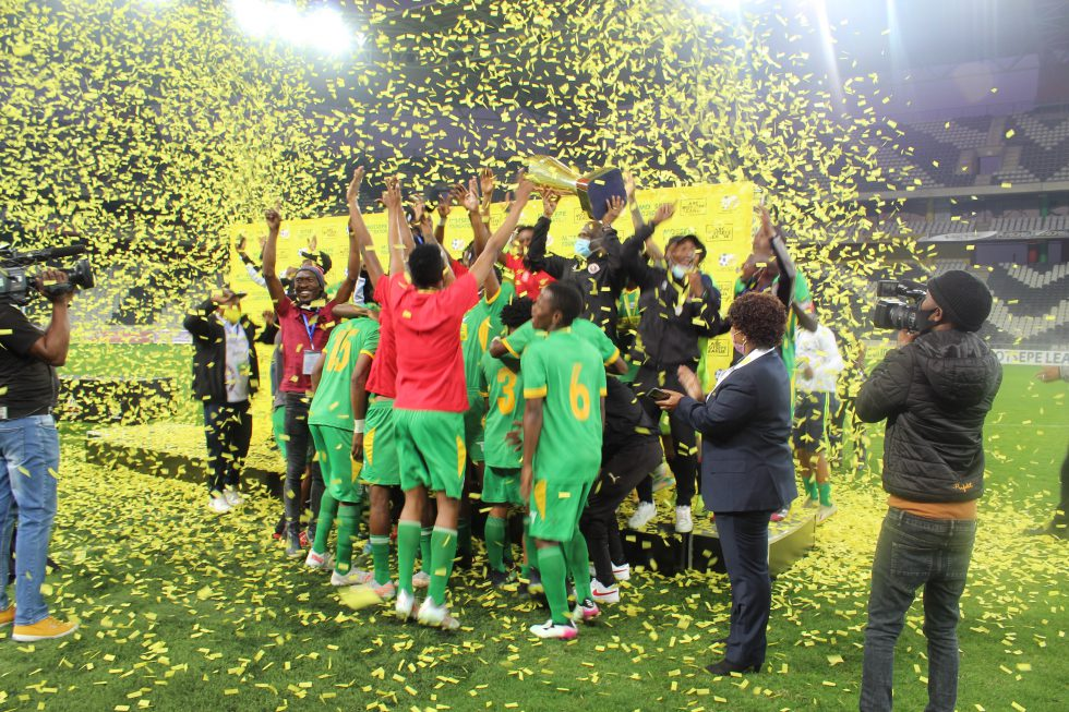 Hungry Lions FC are crowned champions of the 2020/21 ABC Motsepe