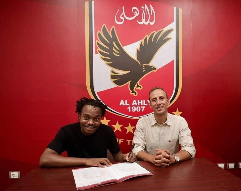 Breaking: Percy Tau Joins Pitso's Al Ahly  from Brighton & Hove Albion