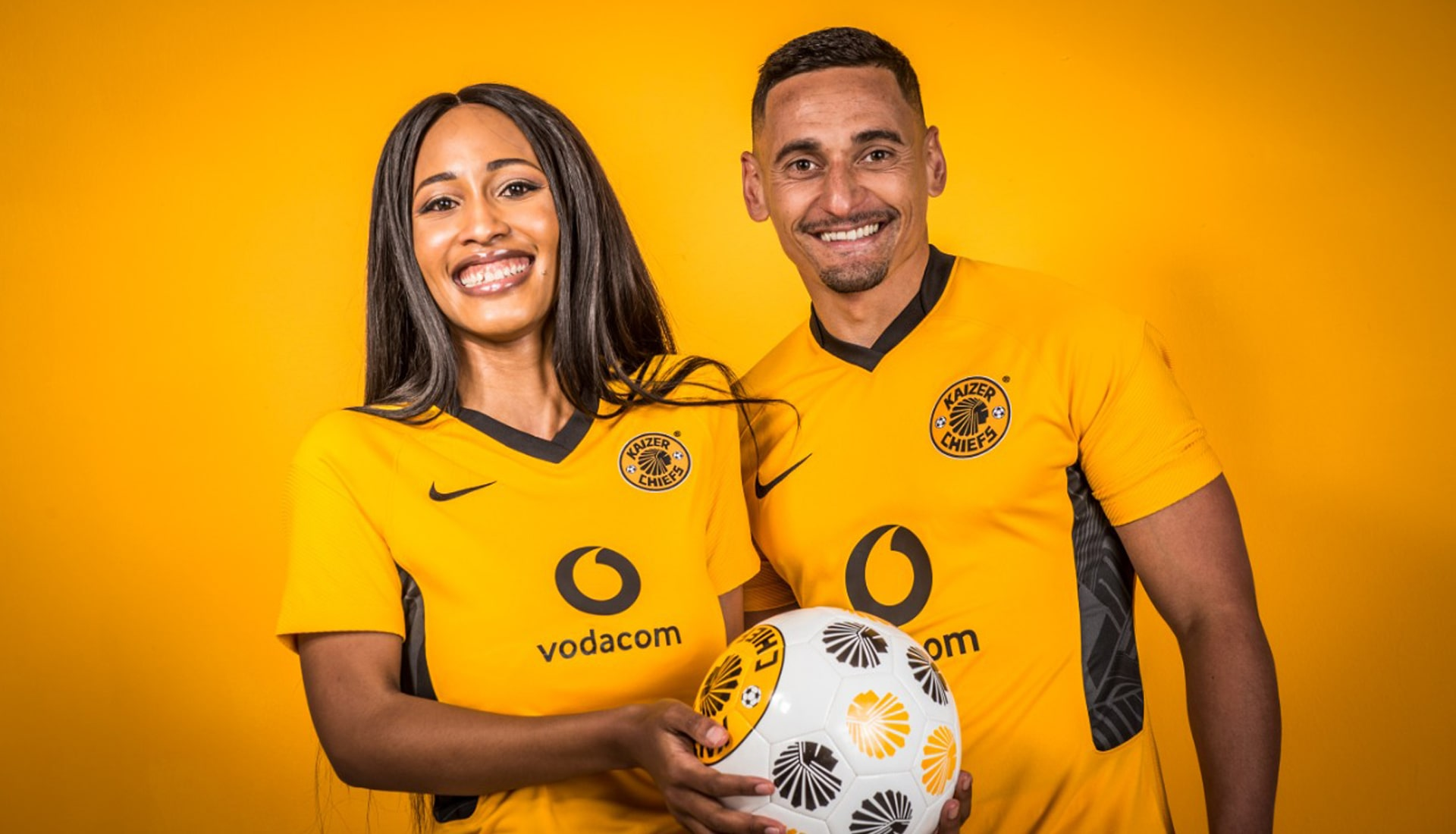 Kaizer Chiefs unveil their new 21/22 Nike Home & Away Shirts