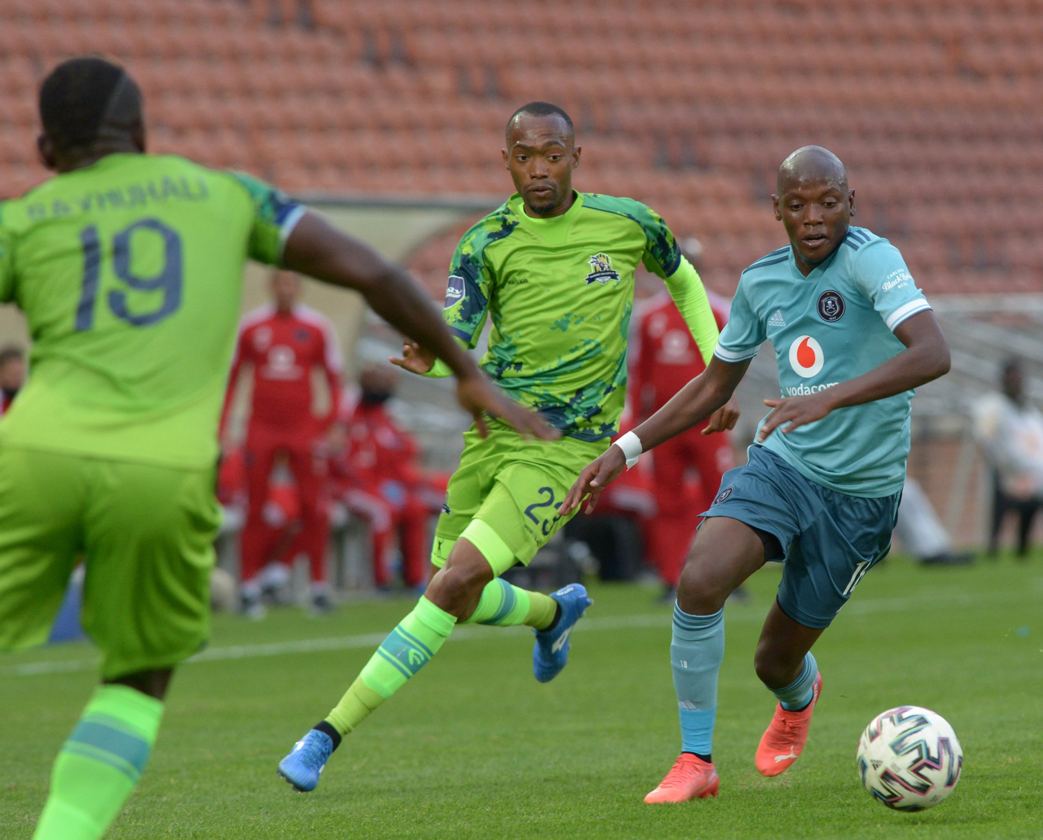 Orlando Pirates were held to a 0-0 draw in a DStv Premiership match by newcomers Marumo Gallants.